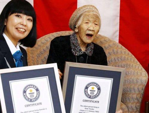Älteste Frau der Welt zieht sich vom olympischen Fackellauf zurück