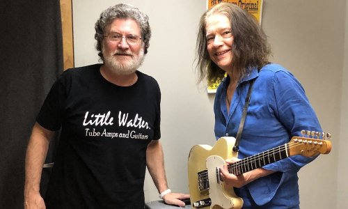 Robben Ford's new Little Walter 59' with TS310 cabinet