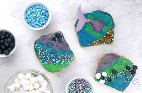 Mermaid Toast {Meine Backbox}