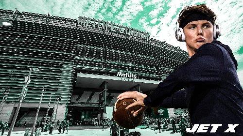 Zach Wilson visits MetLife Stadium while embracing new surroundings