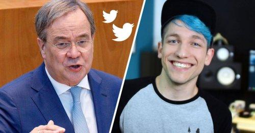 #LaschetKneift: CDU wird für Debattenabsage an Rezo kritisiert