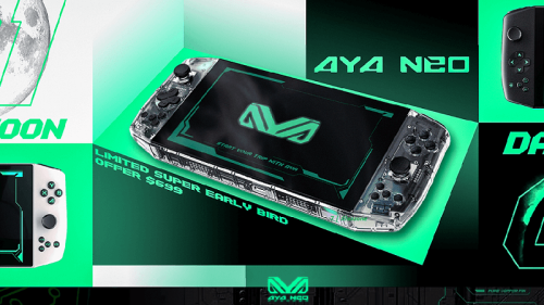 AYA NEO: Nintendo Switch-like handheld PC that plays PC & Steam Games as well as bunch of high-end emulators on the go - JILAXZONE