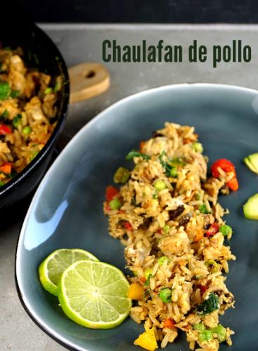 Chaulafan de pollo - Hähnchenreis aus Ecuador
