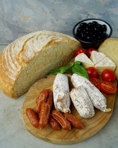 Pane di grano duro - Synchronbacken im Juni
