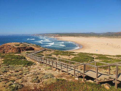 Carrapateira in Portugal: Aussichten und Praia da Bordeira