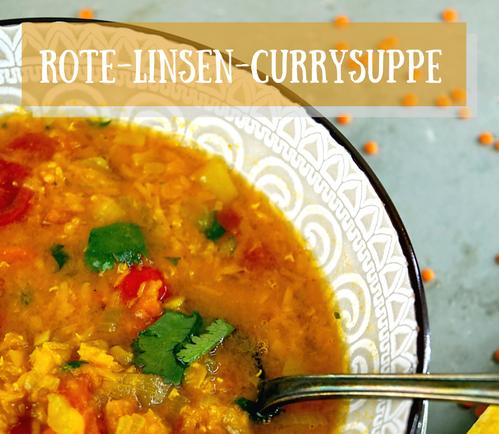 Love is served - Rote-Linsen-Curry-Suppe und ein wunderschönes Buch