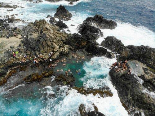 Die schönsten Strände der Welt: Conchi Natural Pool, Aruba