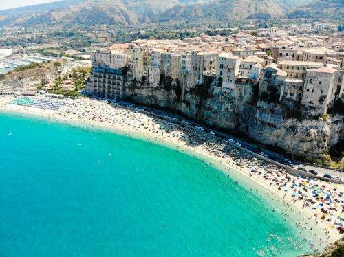 Die schönsten Strände der Welt: Der Strand von Tropea, Italien