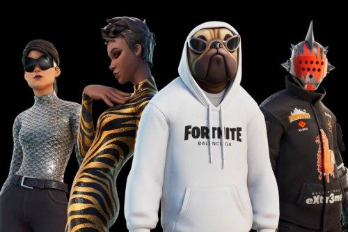Fortnite: une collaboration avec Balenciaga qui a du style