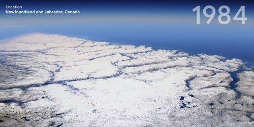 Google Earth propose un incroyable voyage dans le temps