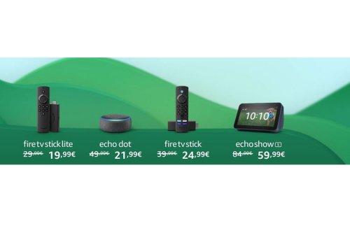 La gamme Amazon Echo au plus bas pour les French Days, c'est le moment de s'équiper !