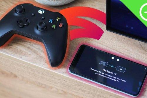 Google Stadia : sur TV votre smartphone peut vous servir de manette   Journal du Geek
