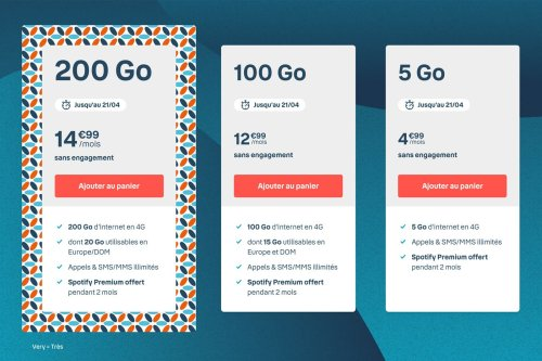 Forfait mobile : Bouygues Telecom brade ses prix avec son opération Very B&You