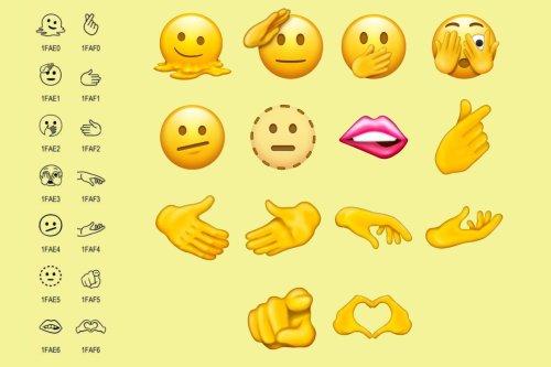 Trolls, haricots et grossesse non genrée: voici les nouveaux émojis d'Unicode 14