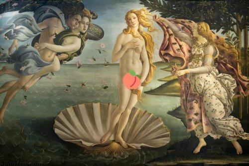 Pornhub parodie des peintures classiques en porno, le Louvre attaque