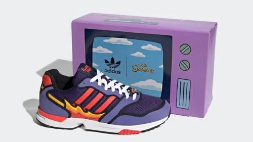Adidas lance deux paires de sneakers Simpsons !   Journal du Geek