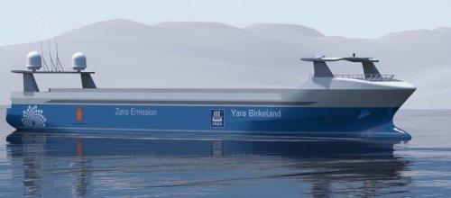 Le premier porte-conteneur électrique et autonome naviguera en fin d'année