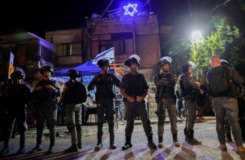 Clashes between Jews, Palestinians in Sheikh Jarrah in Jerusalem
