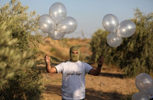Incendiary balloons cause numerous fires throughout southern Israel
