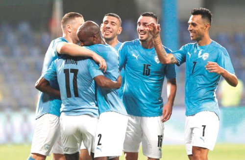 Blue-and-white blows out Montenegro