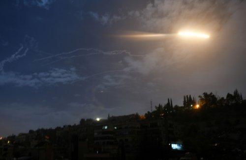 Unidentified planes hit Iranian militias in eastern Syria