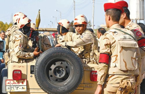 Egyptian military consolidates grip on northern Sinai