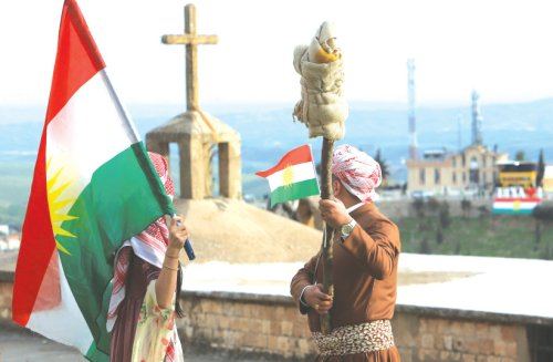 300 people rally in Iraq, call to normalize ties with Israel
