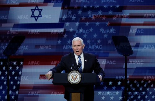 Mike Pence named No. 1 on 2021 list of Israel's 'Top Christian Allies'