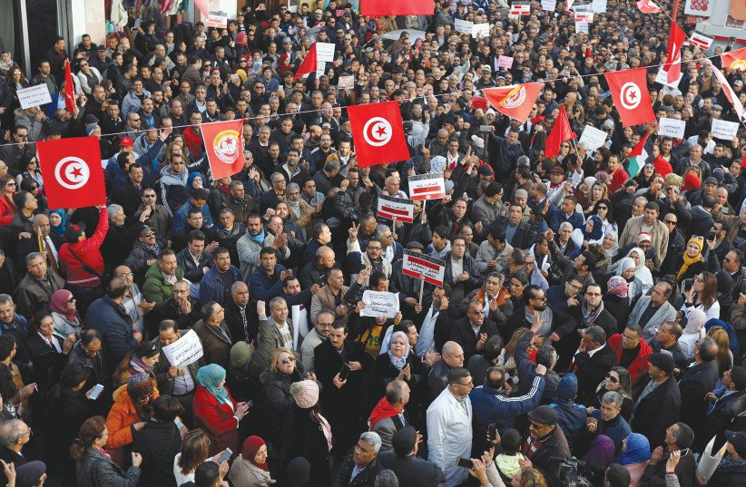 Tunisia, Arab Spring's sole success story, plagued by police brutality
