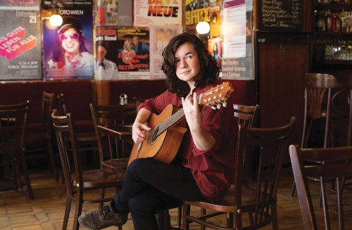 Isabel Frey, the Jewish Viennese musician who thrives on Yiddish