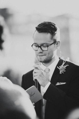 Intimate Chicago Rooftop Wedding at Little Goat Diner   Junebug Weddings