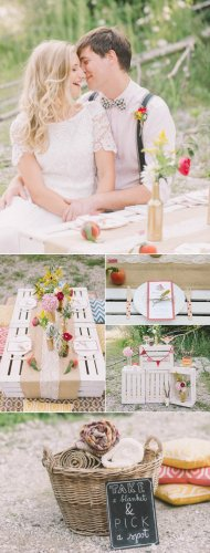 5 of Our Favorite Picnic Weddings to Inspire Your Summer Soirée   Junebug Weddings