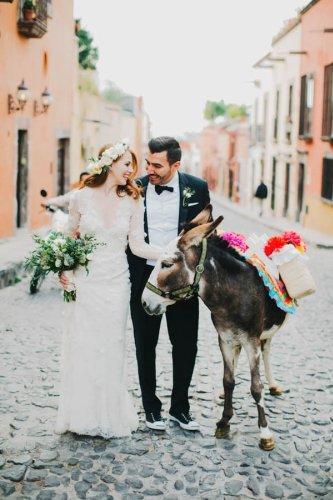 Festive and Fabulous Mexico Destination Wedding in San Miguel de Allende   Junebug Weddings
