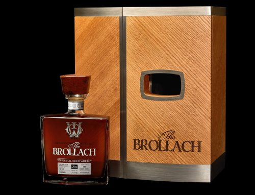 The Craft Irish Whiskey Co's The Brollach single malt- Product Launch - Just Drinks