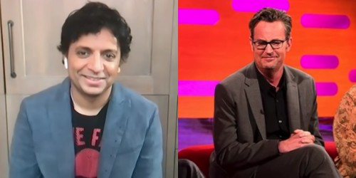 M. Night Shyamalan Confirms Matthew Perry's Drinking Story Actually Happened!