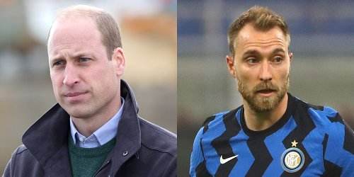 Prince William Posts Rare Tweet to Send Support to Soccer Star Christian Eriksen