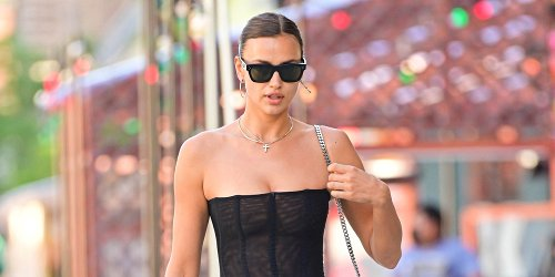 Irina Shayk Rocks a Sexy Bodysuit While Out in NYC
