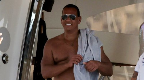 Alex Rodriguez Continues Vacation with Melanie Collins, Spotted Going Shirtless in Ibiza
