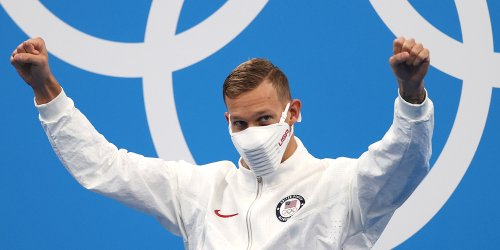 Swimmer Caeleb Dressel Sets New World Record for Men's 100m Butterfly at Tokyo Olympics