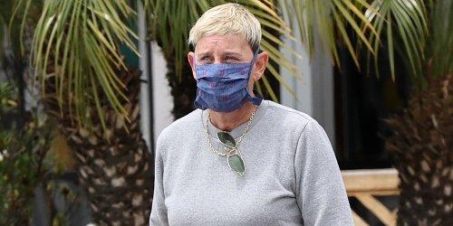 Ellen DeGeneres Runs Errands in Her Super Expensive Car!