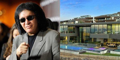 Gene Simmons Buys $8.2 Million Las Vegas Home – Take a Look Inside!