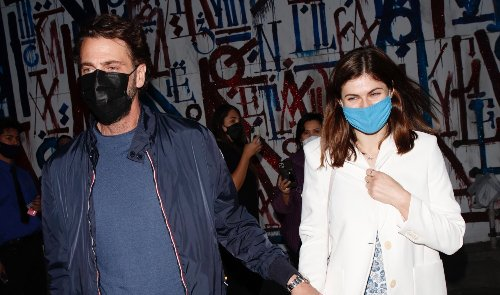 Alexandra Daddario Spotted with New Boyfriend Andrew Form for First Time!