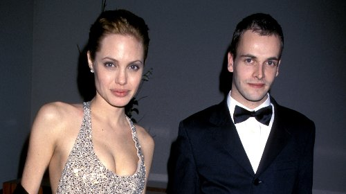 Angelina Jolie Spotted Visiting Her Ex-Husband Jonny Lee Miller's Apartment in New York City