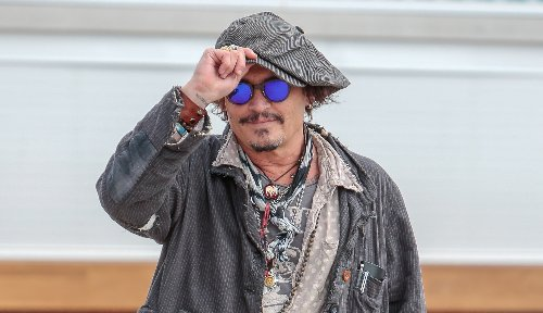 Johnny Depp Makes an Appearance in Spain as Lawyers Drop New Evidence in Amber Heard Case