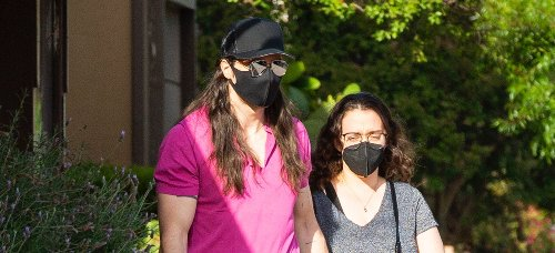Kat Dennings & Fiance Andrew W.K. Hold Hands During Trip to Arts & Crafts Store