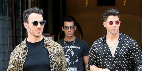 Jonas Brothers Step Out in Stylish Prints for a Day in NYC