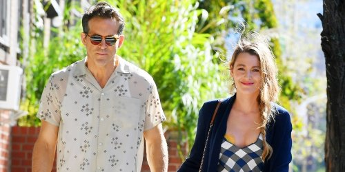 Blake Lively Holds Hands With Husband Ryan Reynolds During Casual Walk in NYC