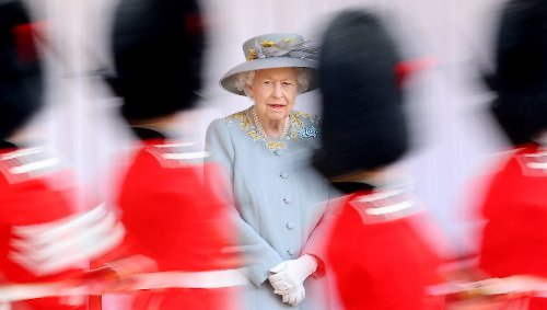 See 100 Photos from Queen Elizabeth's Trooping the Colour Event, Which Was Very Different Than Most Years