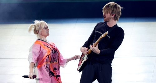Billie Eilish Performs with Brother Finneas at iHeartRadio Music Festival 2021 Night 2!