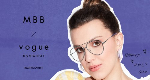 Millie Bobby Brown Drops New Vogue Eyewear Collection – See the Campaign Pics
